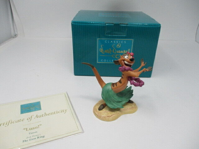 Disney WDCC Luau!  Timon from The Lion King Figurine