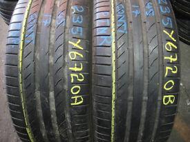 245 40 19 Goodyear, BMW, Runflat, XL x2 A Pair, 4.5mm (Part Worn Tyres Braintree)
