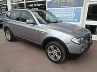 BMW X3 2.0d 2007 4x4 SE Good Miles 83k S/H Finance Available p/x