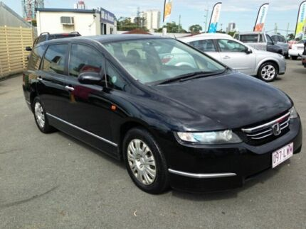 2005 Honda Odyssey 3rd Gen Black 5 Speed Automatic Wagon Southport Gold Coast City Preview