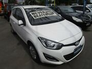 2014 Hyundai i20 PB MY14 Active White 6 Speed Manual Hatchback Gepps Cross Port Adelaide Area Preview