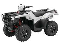 2015 HONDA ATV TRX420 & TRX500 W/ WINCH INSTALLED.  August Only!