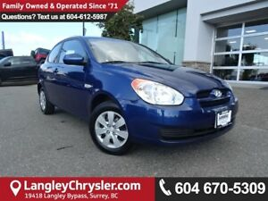 2011 Hyundai Accent GL *ACCIDENT FREE * DEALER INSPECTED *