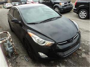 2012 Hyundai Elantra Limited-SUNROOF-XM RADIO-HEATED SEATS Oakville / Halton Region Toronto (GTA) image 3
