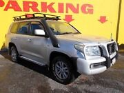 2008 Toyota Landcruiser VDJ200R GXL Silver 6 Speed Sports Automatic Wagon Winnellie Darwin City Preview