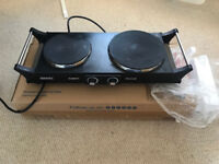Duronic Portable Electric Double Hot Plate Hob