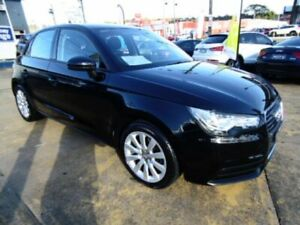 2014 Audi A1 8X MY14 Sportback 1.4 TFSI Attraction Black 7 Speed Auto Direct Shift Hatchback Five Dock Canada Bay Area Preview