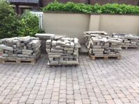 dressed sandstone , cropped, lovely condition , willing to do a deal if you take it all