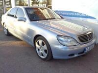 Mercedes-Benz S320 3.2TD 3244cc auto 2001 S320 CDi P/X swap