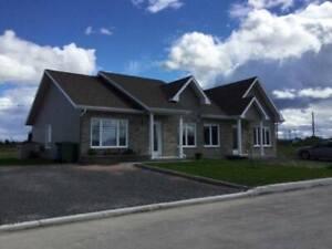 Jumelé Construction Neuve sur Dalle de Béton - Taxes incluses