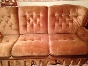 Chesterfield & Chair and recliner