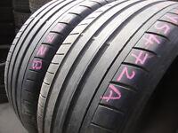 235/35/19 Dunlop SP Sport Maxx GT x2 A Pair, 4.8mm (168 High Road, Romford RM6 6LU) Second Hand