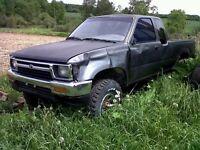 1992 Toyota pickup with 1.9 turbo diesel vw swap