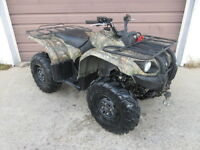 2008 Yamaha grizzly 450 camouflage atv
