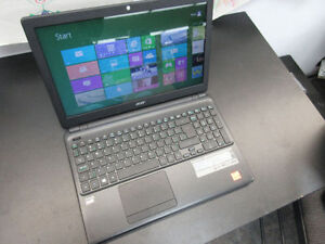 """**ACER** Aspire E1-522-3884 Laptop 15"""" Display, 750GB HDD, AMD"""