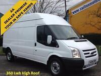 2014 /14 Ford Transit 350 Lwb High Roof panel Van 2.2Tdci 100 RWD