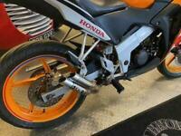Honda CBR 125 Repsol colours in superb condiiton