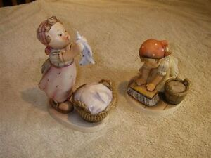 HUMMEL FIGURINES - WASH DAY & BIG HOUSE CLEANING