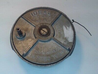 Ideal Ironworker Rodbuster Concrete Tie Wire Reel Model 80 Rebar Tying Tool