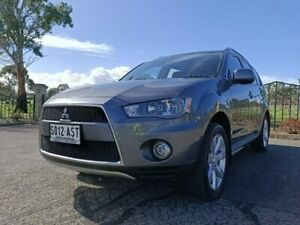 2012 Mitsubishi Outlander ZH MY12 Activ 2WD Silver 6 Speed Constant Variable Wagon Enfield Port Adelaide Area Preview