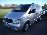 MERCEDES VITO 111 CDI LONG DUAL LINER , Silver, Manual, Diesel, 2005
