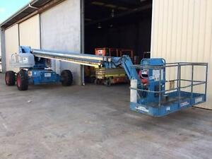 Genie S85 Telescopic Boom Lift Mermaid Waters Gold Coast City Preview