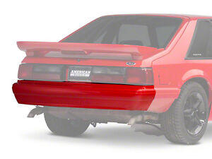 87-93 FORD MUSTANG LX REAR BUMPER COVER W/ MUSTANG SCRIPT