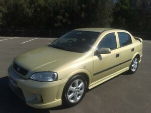 2005 Holden Astra TS Classic Gold 4 Speed Automatic Sedan Revesby Bankstown Area Preview