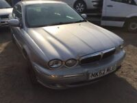 2002 Jaguar X-Type, starts and drives well, 89,000 miles, car located in Gravesend Kent, no MOT, hen