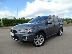 2012 Mitsubishi Outlander ZH MY12 Activ (4x4) Grey 5 Speed Manual Wagon Vincent Townsville City Preview