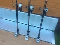 3 Fishing Rods For Sale - Comes With Shimano Reels in Mint Condition