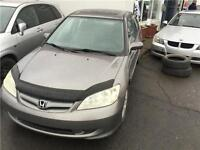 2005 HONDA BERLINE CIVIC LX-G-AUTOMATIQUE