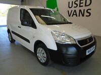 Peugeot Partner L1 850 S 1.6 92PS (SLD) EURO DIESEL MANUAL WHITE (2016)