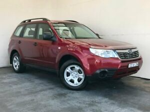 2008 Subaru Forester 79V MY08 X AWD Red 4 Speed Automatic Wagon Mount Gambier Grant Area Preview