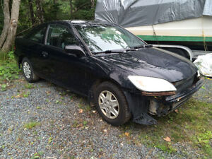 2004 Honda Civic Coupe For Parts