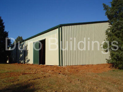 Durobeam Steel 60x88x1015 Metal Barn Single Slope Clear Span Building Direct