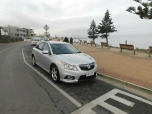 2011 Holden Cruze JH Series II MY11 CD Silver 6 Speed Sports Automatic Sedan Morphett Vale Morphett Vale Area Preview