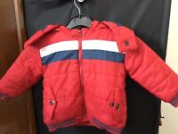 Available still 23/8/3016: 2x Winter Jackets (12-18months)