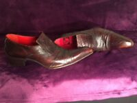 Jeffery West Class Shoes in Brown Size 10