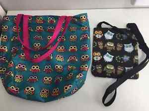 Owl themed hand bags