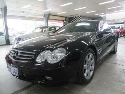 2002 Mercedes-Benz SL500 R230 Black 5 Speed Auto Touchshift Convertible