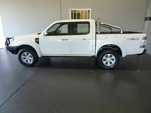 2010 Ford Ranger PK XLT (4x4) White 5 Speed Automatic Dual Cab Pick-up Woodridge Logan Area Preview