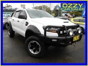 2016 Ford Ranger PX MkII XL 3.2 (4x4) White 6 Speed Automatic Crew Cab Utility Penrith Penrith Area Preview