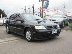 2001 Holden Astra TS CD Black 4 Speed Automatic Sedan Brooklyn Brimbank Area Preview