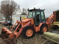 AUCTION OF BACKHOE AND FORKLIFT