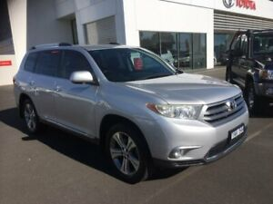 2011 Toyota Kluger GSU45R MY11 Upgrade KX-S (4x4) Silver Pearl 5 Speed Automatic Wagon Sale Wellington Area Preview