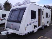 2012 Elddis Crusader Shamal 4 Berth TWIN SINGLE BEDS. Alde Central Heating.