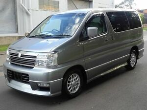 2001 Nissan Elgrand E50 Special Edition Grey 4 Speed Automatic Wagon Taren Point Sutherland Area Preview