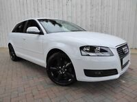 Audi A3 1.6 Technik SE Sportback ....Perfect Colour Combination - White with Black Sport Alloys