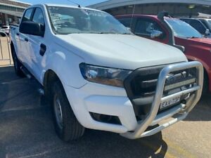 2015 Ford Ranger PX MkII XL Double Cab White 6 Speed Manual Utility Wickham Newcastle Area Preview